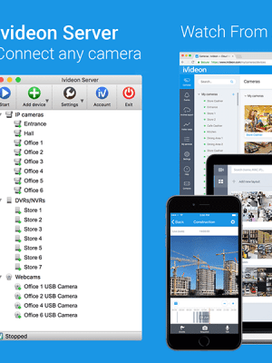 Ivideon Video Surveillance Server – (Windows Apps) — AppAgg